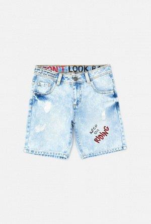 Шорты джинсовые детские для мальчиков Krakatau светло-голубой