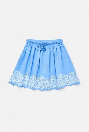 Юбка детская для девочек Divage голубой