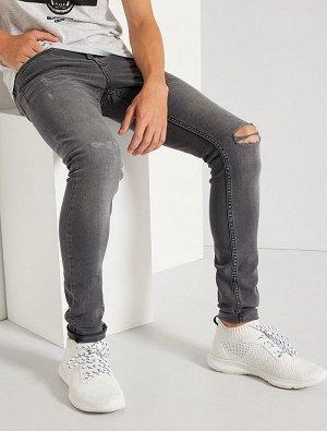 Узкие джинсы destroy
