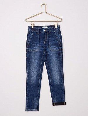 Джинсы в стиле рабочих брюк