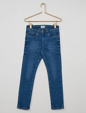Облегающие джинсы из экологического материала