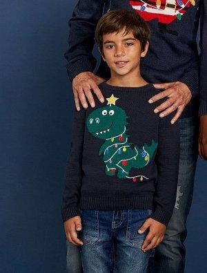 Джемпер в рождественском стиле