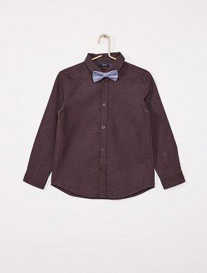 Рубашка с галстуком-бабочкой