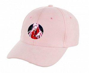 Кепка унисекс, с принтом, цвет светло-розовый