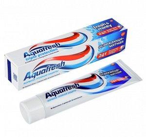 Паста Зубная Аквафреш Освежающе-Мятная Туба с Помпой 100мл