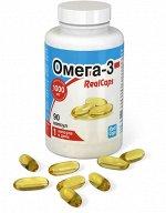 Омега-3 Realcaps Капс.1400мг №90 (Бад)