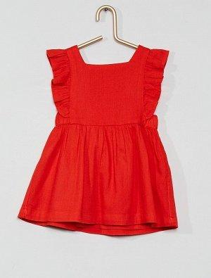 Комплект платье + шорты-шаровары из экологически чистого материала