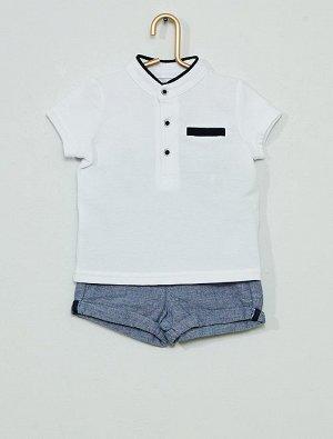 Комплект из шорт и поло Eco-conception
