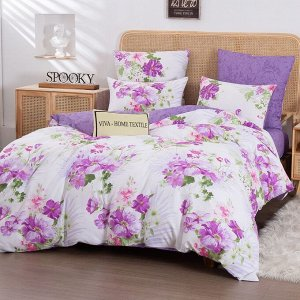 Комплект постельного белья Люкс-Сатин A244