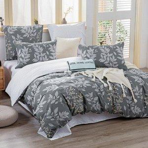 Комплект постельного белья Делюкс Сатин L392 1.5 спальный наволочки 50-70