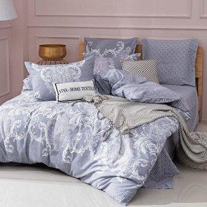 Комплект постельного белья Делюкс Сатин L396 1.5 спальный наволочки 50-70