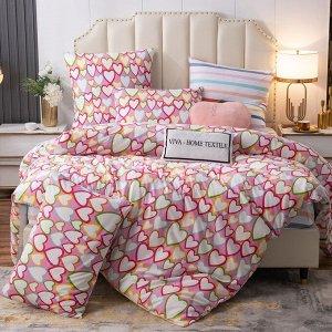 Комплект постельного белья Люкс-Сатин A229
