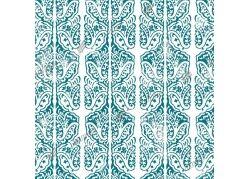 Штора для ванной комнаты, 180 х 180 см, с кольцами, полиэтилен, бирюзовый, БАРОККО, 1/40