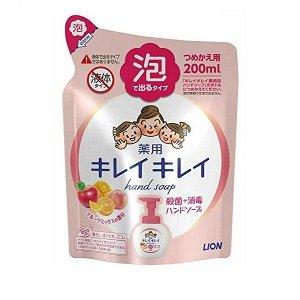 """Мыло-пенка для рук """"KireiKirei"""" с ароматом МИКСА фруктов (запаска) 200 мл / 24"""