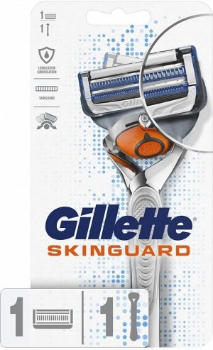 GILLETTE SKINGUARD Sensitive Бритва с 1 сменной кассетой