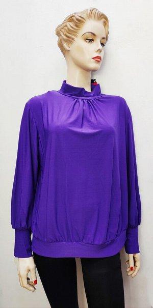 Блуза сиреневая