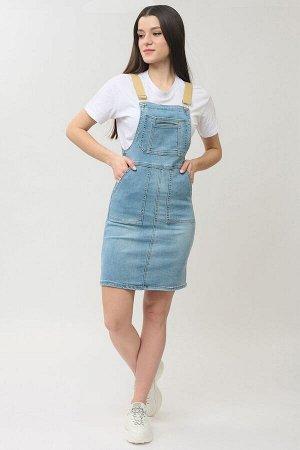 Сарафан джинсовый голубой (ряд S-XL) арт.C707-105