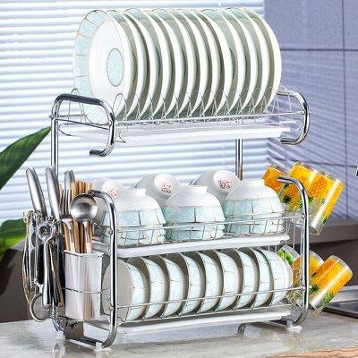 Сушилки, подставки и бытовая химия для посуды