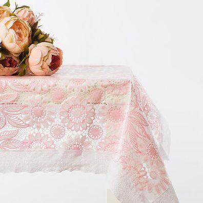 ОГОГО Какой Выбор Домашнего Текстиля — Скатерти Прямоугольные — Клеенки и скатерти