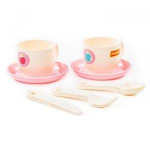 """Набор детской посуды """"Минутка"""" на 2 персоны (V6) (10 элементов) (в сеточке) 80240"""