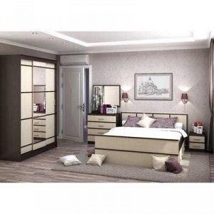 Кровать Сакура 1600х2000 Венге/Дуб белфорт