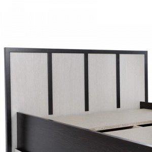 Кровать Сакура 900х2000 Венге/Дуб белфорт