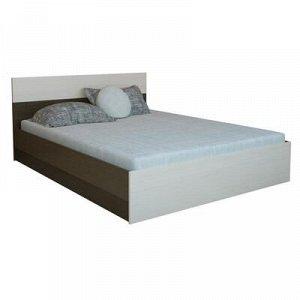 Кровать Юнона 1600х2000, Венге/Дуб