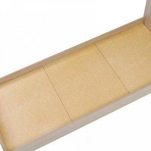 Кровать 800*2000 Ясень Шимо светлый
