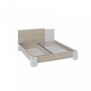 Кровать Валери 1600х2000 Дуб сонома/Белый ясень