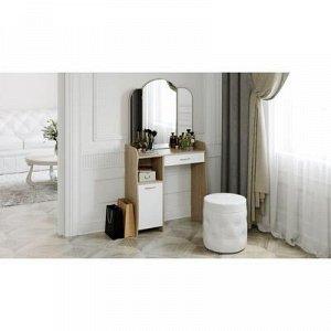 Стол туалетный София Т1 786х1520х330 Дуб сонома/Белый