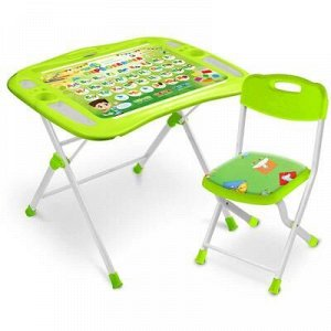 Набор мебели «Первоклашка»: регулируемая парта, стул мягкий, пенал, подставка для книг