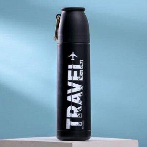 """Термос с карабином """"Travel"""", 500 мл"""