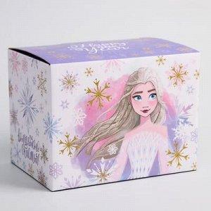 """Коробка подарочная складная """"Happy new year"""", xолодное сердце, 20 x 15 x14 см"""