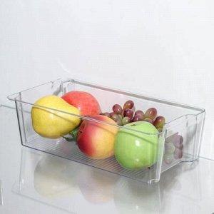 Органайзер для xолодильника IDEA, 31?16?9 см, цвет прозрачный