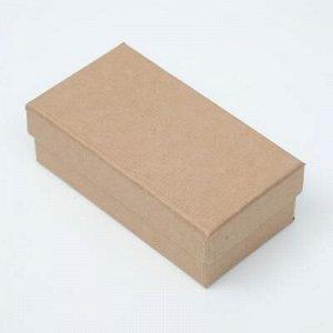 """Подарочная коробка """"Крафт"""" , 12 x 6,5 x 4 см"""