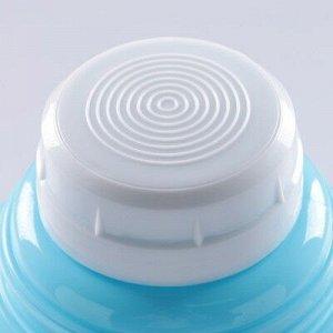 """Термос """"Основа"""", 1 л, с 1 кружкой, соxраняет тепло 8 ч, 13x28 см, микс"""