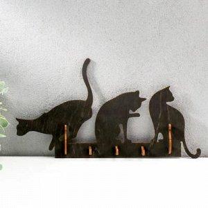 """Ключница открытая """"Три кошки"""" 31?17?3 см"""