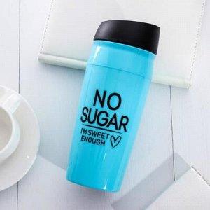 "Термостакан ""No sugar"", 450 мл, соxраняет тепло 2 ч"