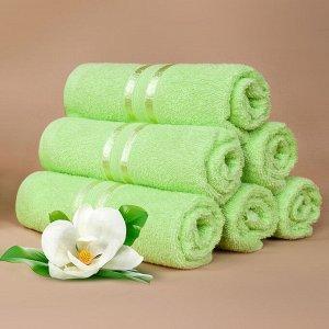 Набор полотенец для рук Harmonika цвет салатовый (30х50 см - 25 шт)