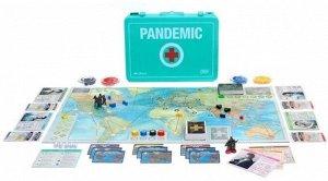 Настольная игра Pandemic 10th Anniversary Edition (Пандемия: 10-е юбилейное издание) (на английском языке)