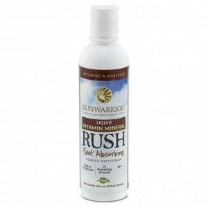 Sunwarrior, Liquid Vitamin Mineral Rush, 8 жидких унций (236,5 мл)