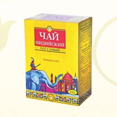 Чайно-кофейный дом. Чай и Кофе на любой вкус!☕ — Чай Tipson (Синий слон) — Чай