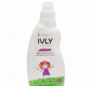 Жидкое моющее средство для детских вещей с экстрактом Тиаре и кокосовым маслом 1000 мл