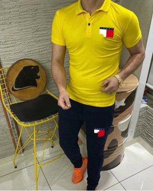 Костюм(футболка-поло и брюки)