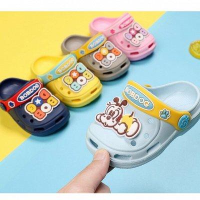 ✅ Резиновая обувь для детей. Для дождя и на пляж — Кроксы — Шлепанцы