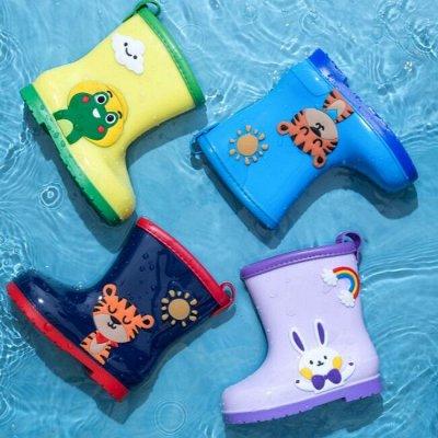 ✅ Резиновая обувь для детей. Для дождя и на пляж — Резиновые сапожки — Сапоги