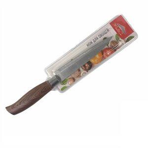 Нож для овощей, 14 см, нерж. сталь, ручка пластик, 1/40/240