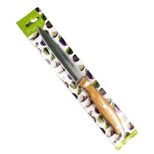 Нож филейный 29см, нерж. сталь, деревянная ручка 1/24/144
