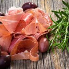 🐟Икра минтая! Гребешок по-Шанхайский. Рыбка малосол — Окорок свиной Пармский, Шея свиная Италия