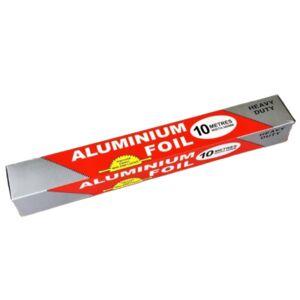 Фольга алюминиевая 10м 1/100